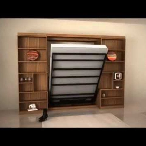Folding Murphy Bed Bottom