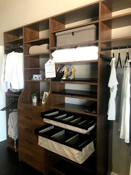 Closet Systems With Custom Shelves & Closet Rods